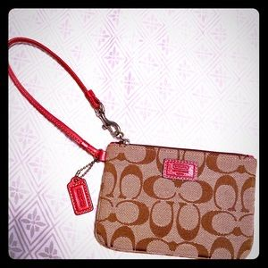 COACH Wristlet Clutch Wallet Catchall